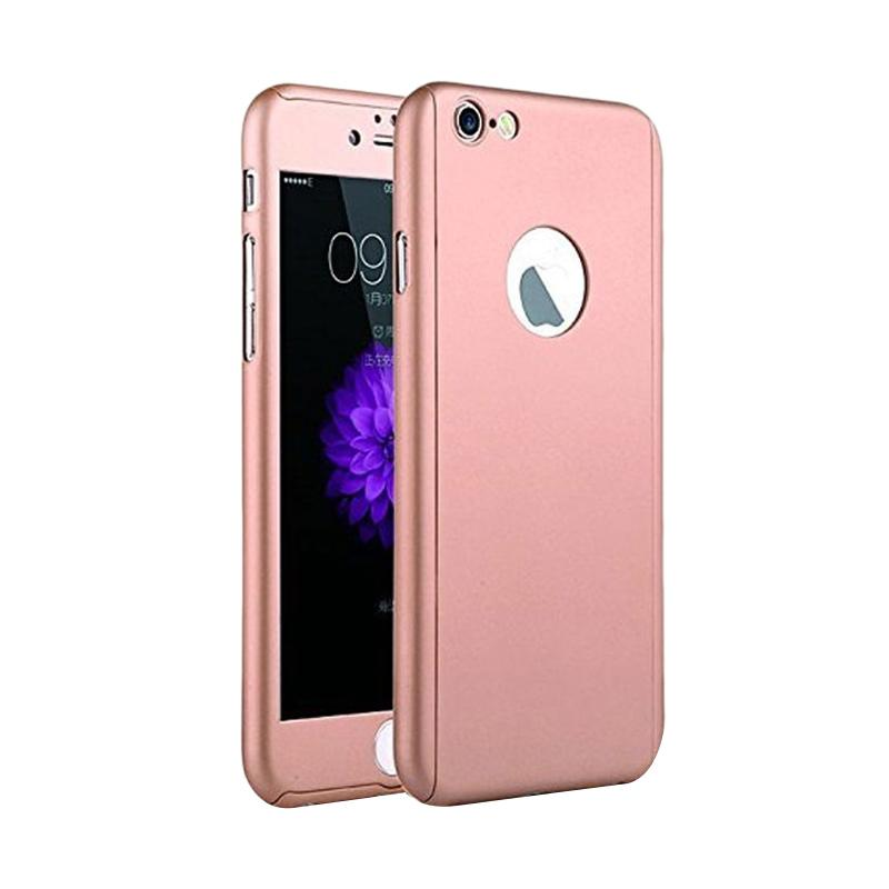 Tunedesign TPU 360 Casing for iPhone 6 Plus or iPhone 6S Plus - Rose Gold