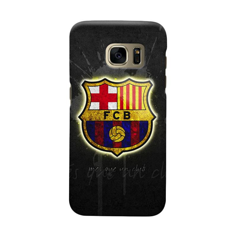 Indocustomcase FC Barcelona FCB09 Cover Casing for Samsung Galaxy S7