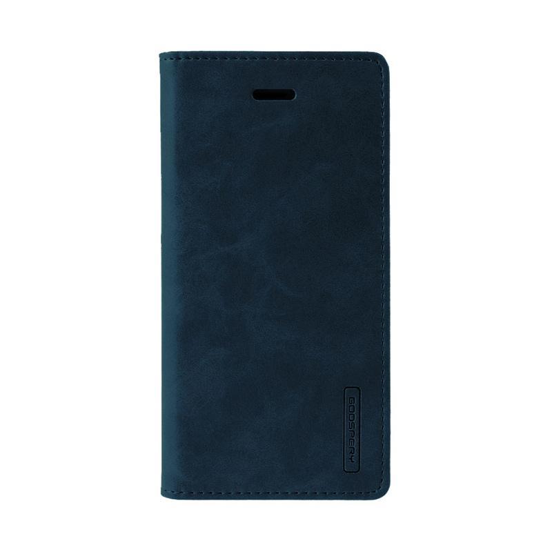 Mercury Bluemoon Flip Cover Casing for Samsung Galaxy A7 2017 - Biru Dongker