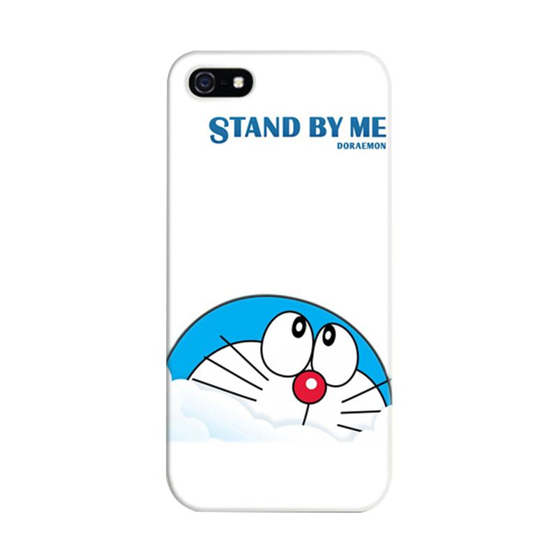 Indocustomcase Stand By Me Doraemon Cover Casing for iPhone 5/5S/SE