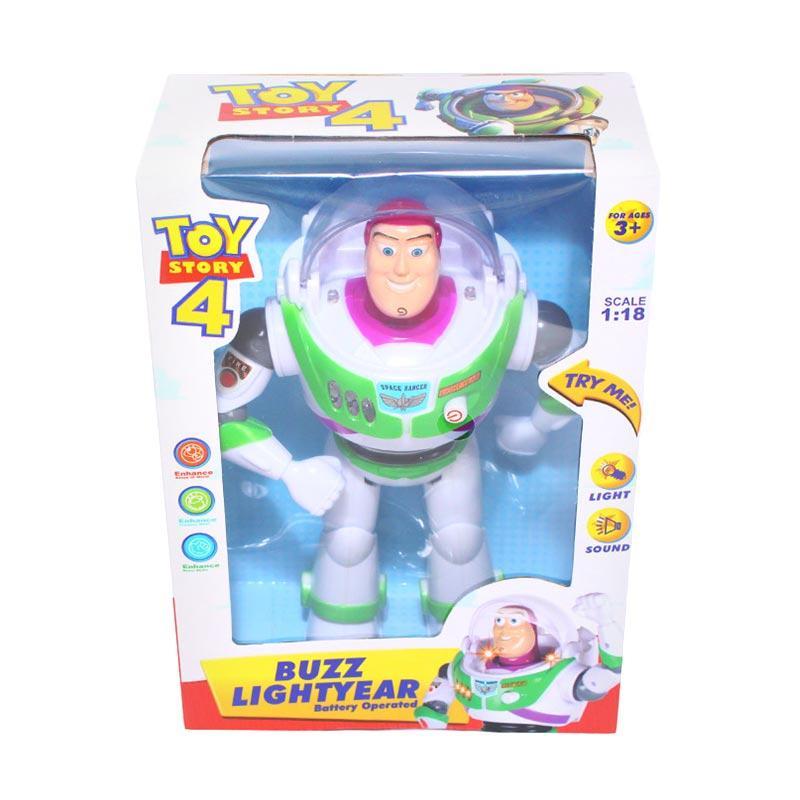 Istana Kado IKO00690 Mainan Robot Buzz Lightyear Toys Story Mainan Anak