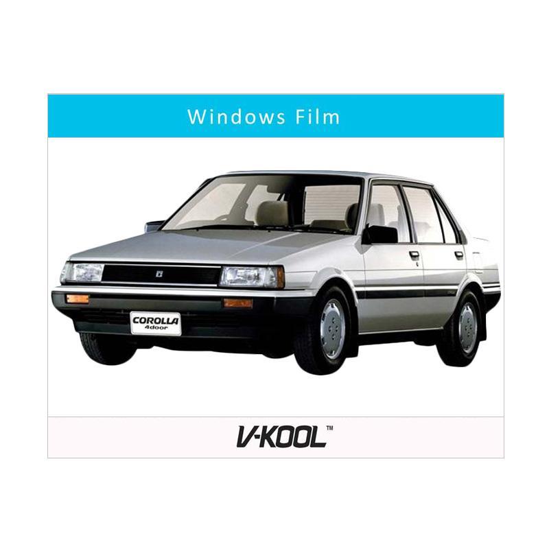 harga V-KOOL Kaca Film Full Body for Toyota Corolla [Depan VK70 20% + Samping Belakang VIP 60%] Blibli.com