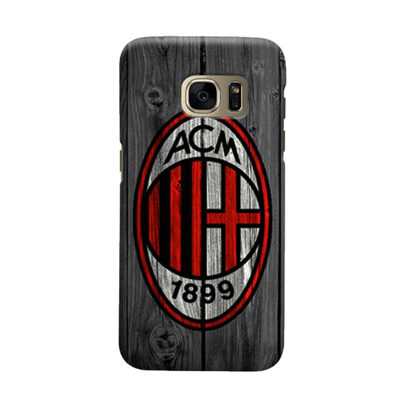 Indocustomcase AC Milan ACM04 Cover Casing for Samsung Galaxy S7