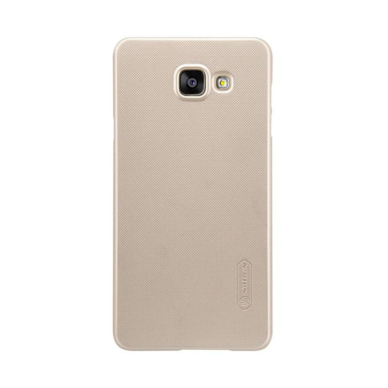 Nillkin Super Shield Original Hardcase Casing for Samsung Galaxy A5 Plus - Gold [1 mm]