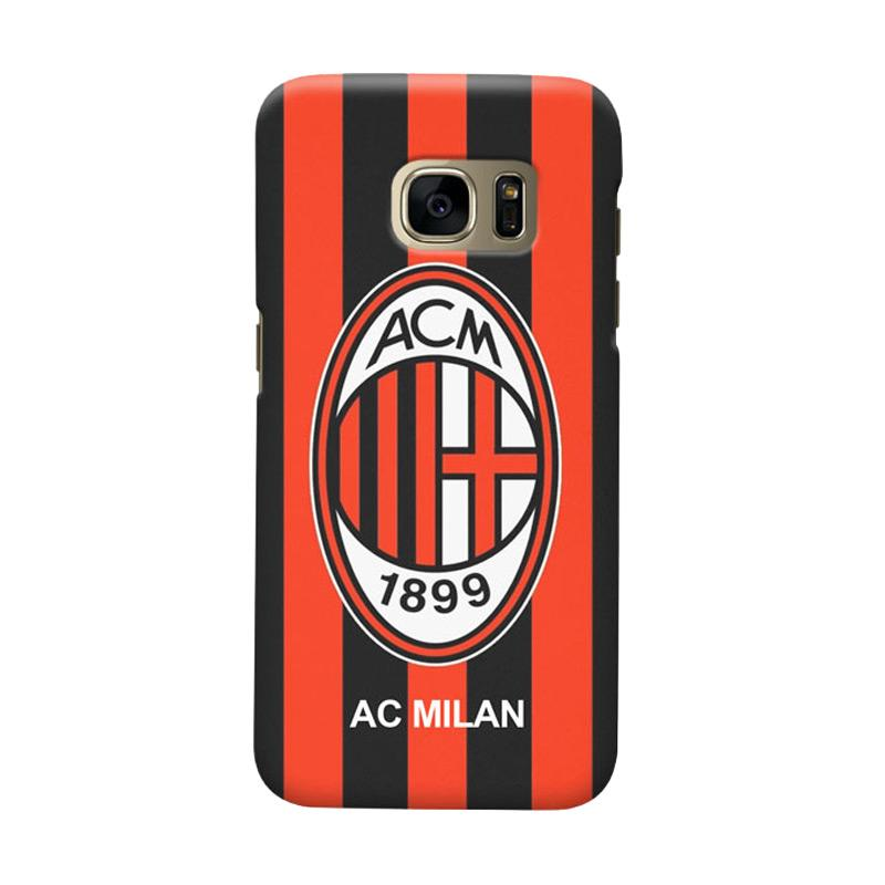 Indocustomcase AC Milan ACM06 Cover Casing for Samsung Galaxy S7