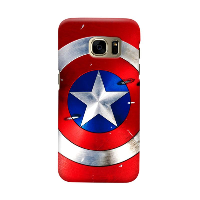 Indocustomcase Shield Cover Casing for Samsung Galaxy S7 Edge