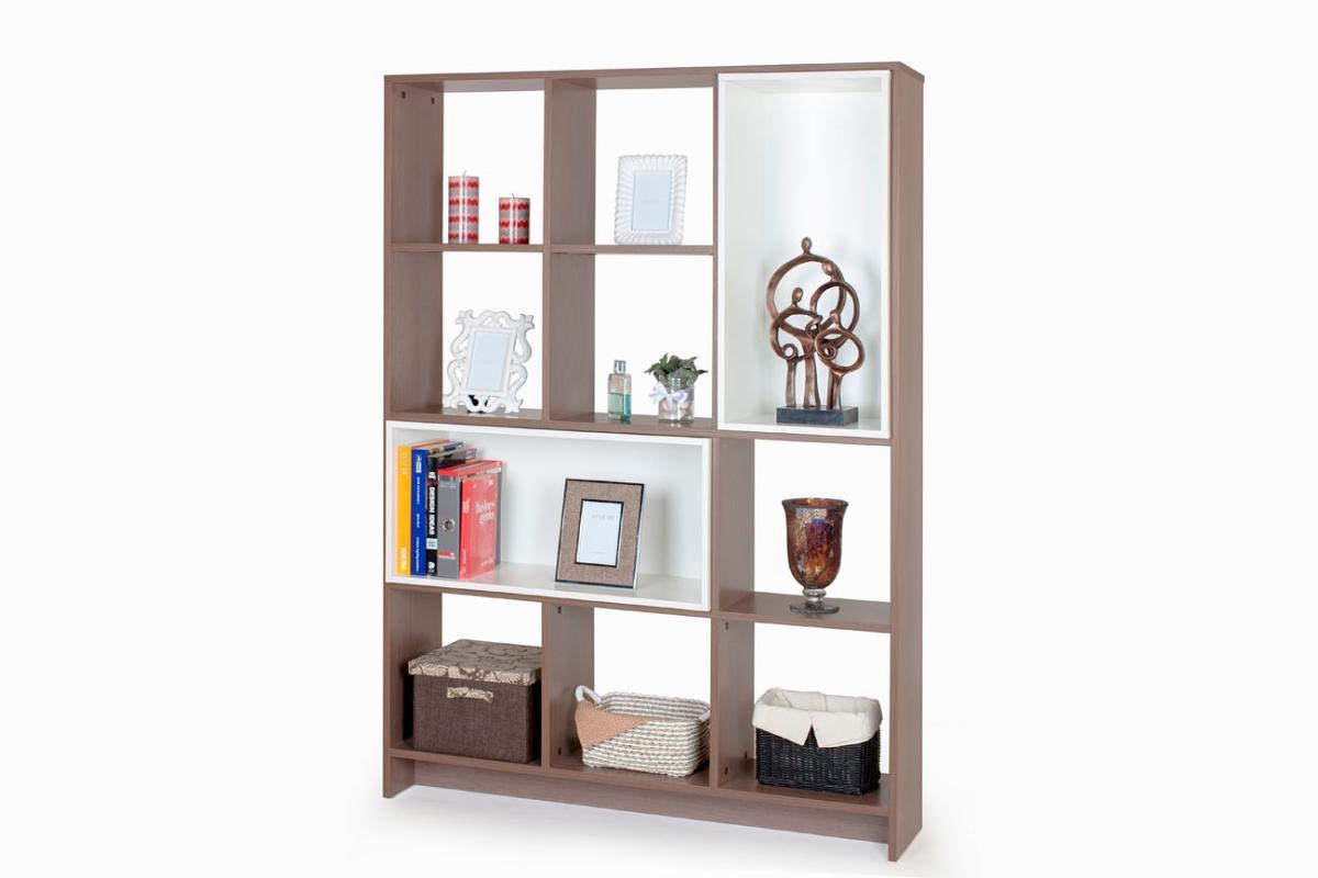 Ben Furniture Melamine Buffet Lemari Pajangan [Open Shelf 3/120 x 29 x 169.4 cm]