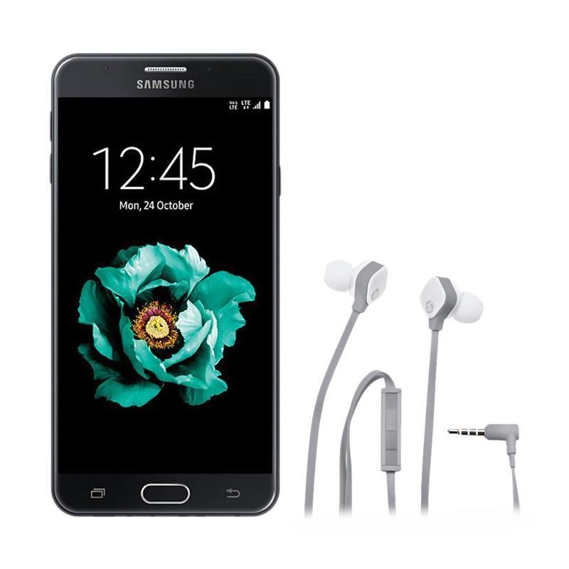 harga Samsung Galaxy J5 Prime Smartphone - Black [16 GB/2 GB] + HP H2310 In Ear White headset [J8H43AA] Blibli.com