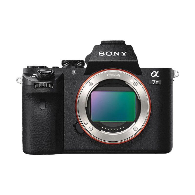 harga Sony Alpha a7 II kit lensa Sony FE 28-70mm f/3.5-5.6 OSS Digital Kamera Mirrorless - Hitam Blibli.com