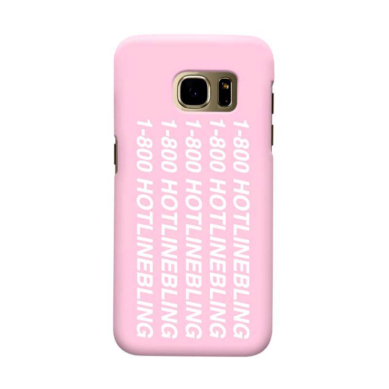 Indocustomcase Hotline Bling Cover Casing for Samsung Galaxy S7