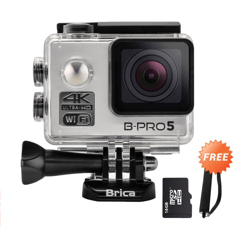 harga Brica B-PRO 5 Alpha Edition Version 2 AE2 4K WIFI Action Camera - Silver + Free Accessories Blibli.com