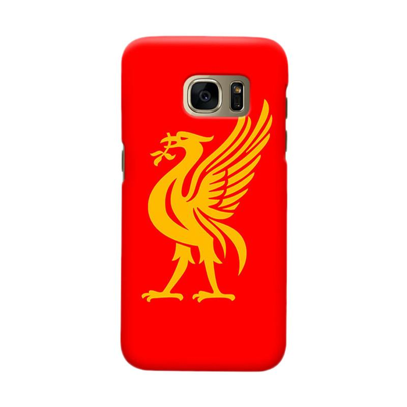 Indocustomcase Liverpool Logo LFC06 Casing for Samsung Galaxy S6