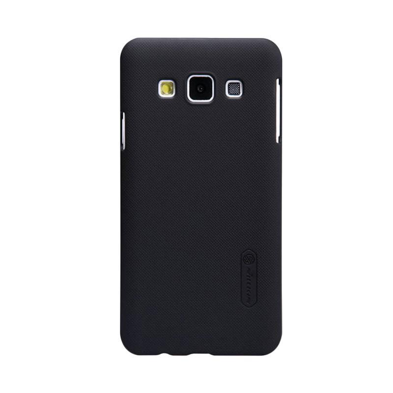 Nillkin Original Super Shield Hardcase Casing for Samsung Galaxy A3 - Black [1 mm]