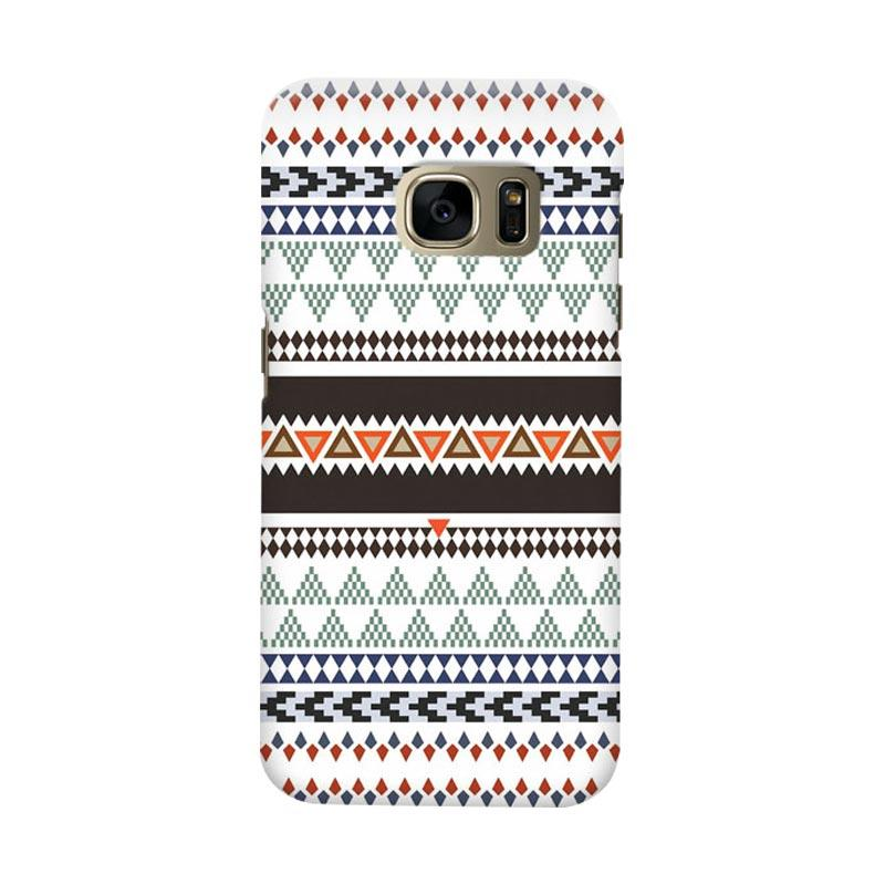 Indocustomcase Tribal Cover Casing for Samsung Galaxy S6 Edge