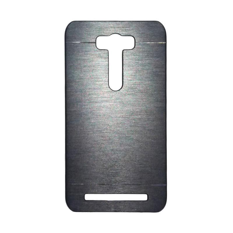 Motomo Metal Backcase Hardcase Casing for Asus Zenfone Selfie ZD551KL - Silver