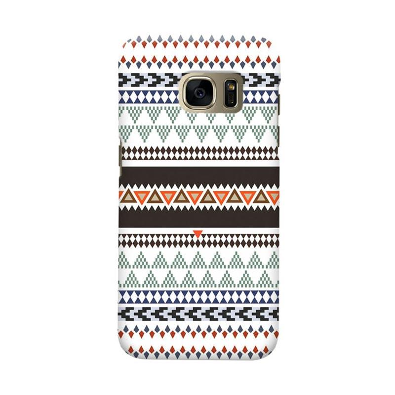 Indocustomcase Tribal Cover Casing for Samsung Galaxy S7 Edge