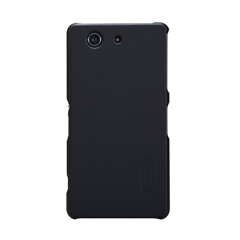 Nillkin Original Super Shield Hardcase Casing for Sony Xperia Z3 Compact - Black [1 mm]