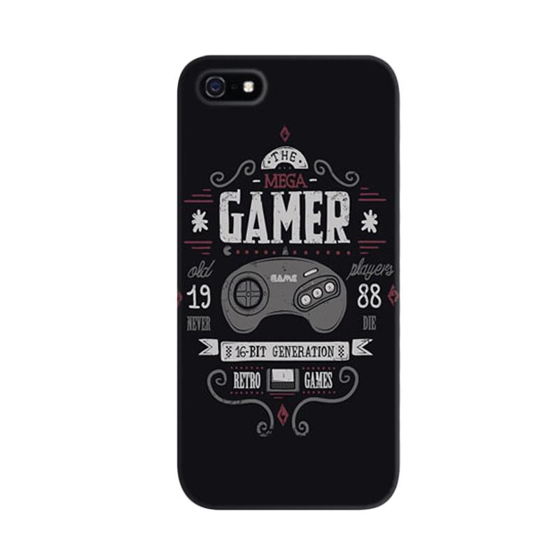 Indocustomcase Gamer Custom Hardcase Casing for Apple iPhone 5/5S/SE