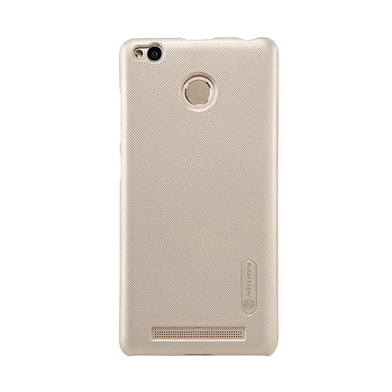 Nillkin Original Super Shield Hardcase Casing for Xiaomi Redmi 3 Pro - Gold [1 mm]