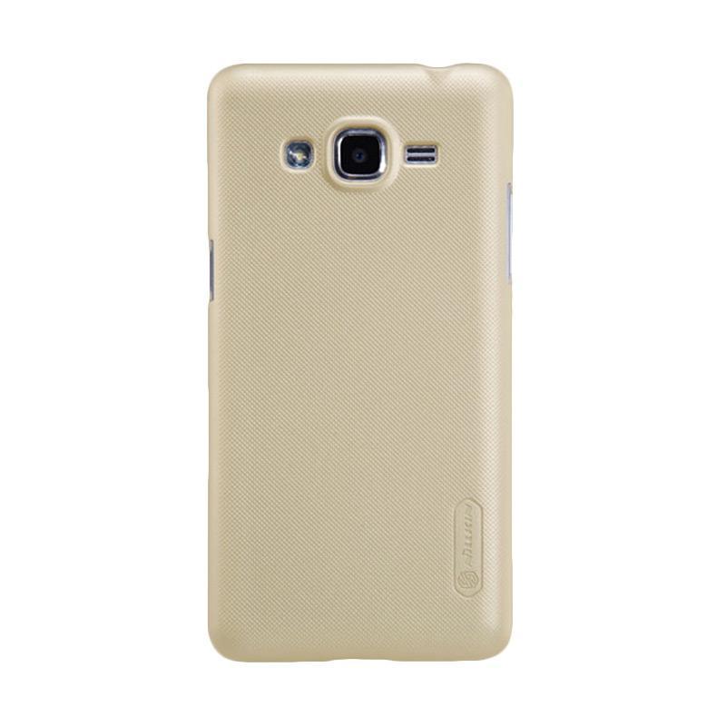 Nillkin Original Super Shield Hardcase Casing for Samsung Galaxy J2 - Gold [1 mm]