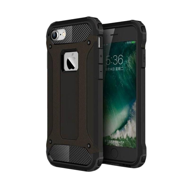 OEM Spigen Transformers Iron Robot Hardcase Casing for iPhone 6S 4.7 inch - Black