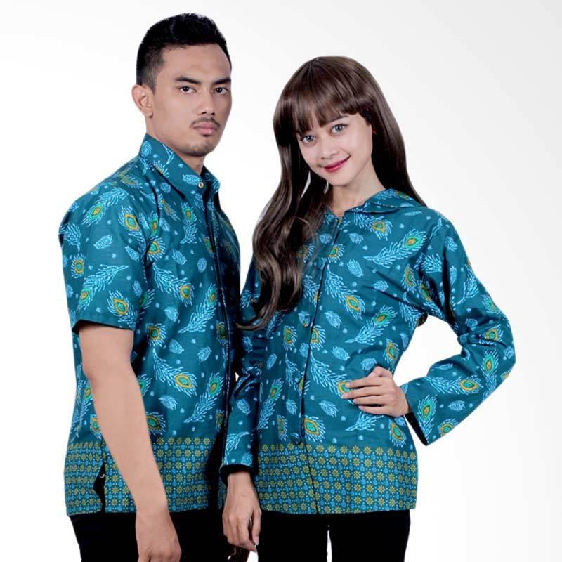 harga Batik Putri Ayu Solo Sarimbit Katun SRB17 Baju Batik Couple - Hijau Blibli.com