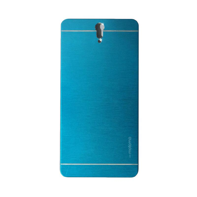 Motomo Metal Hardcase Backcase Casing for Sony Xperia C5 or C5 Ultra - Sky Blue