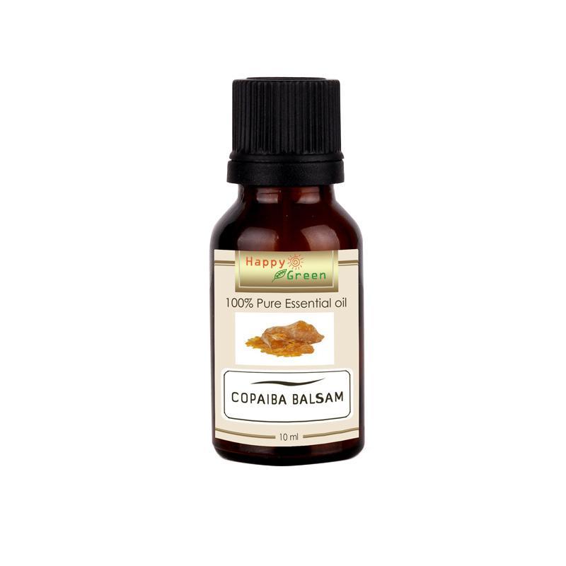 Happy Green Copaiba Balsam Minyak Copaiba Pure & Natural Essential Oil [10 mL]