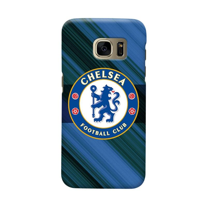 Indocustomcase Chelsea FC CFC01 Cover Casing for Samsung Galaxy S6 Edge