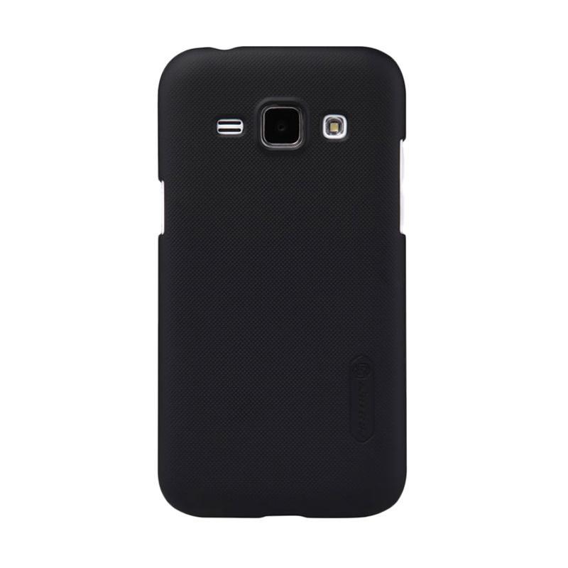 Nillkin Original Super Shield Hardcase Casing for Samsung Galaxy J1 - Black [1 mm]