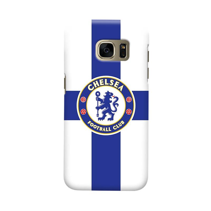 Indocustomcase Chelsea FC CFC02 Cover Casing for Samsung Galaxy S6 Edge
