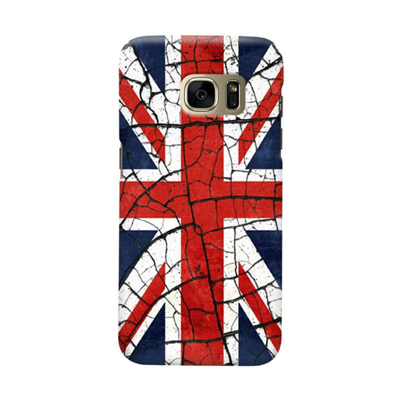 Indocustomcase Union Jack Cover Casing for Samsung Galaxy S6