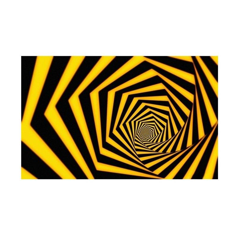 Jual Let S Talk Canvas Abstract Illusion Tunnel Lukisan Digital