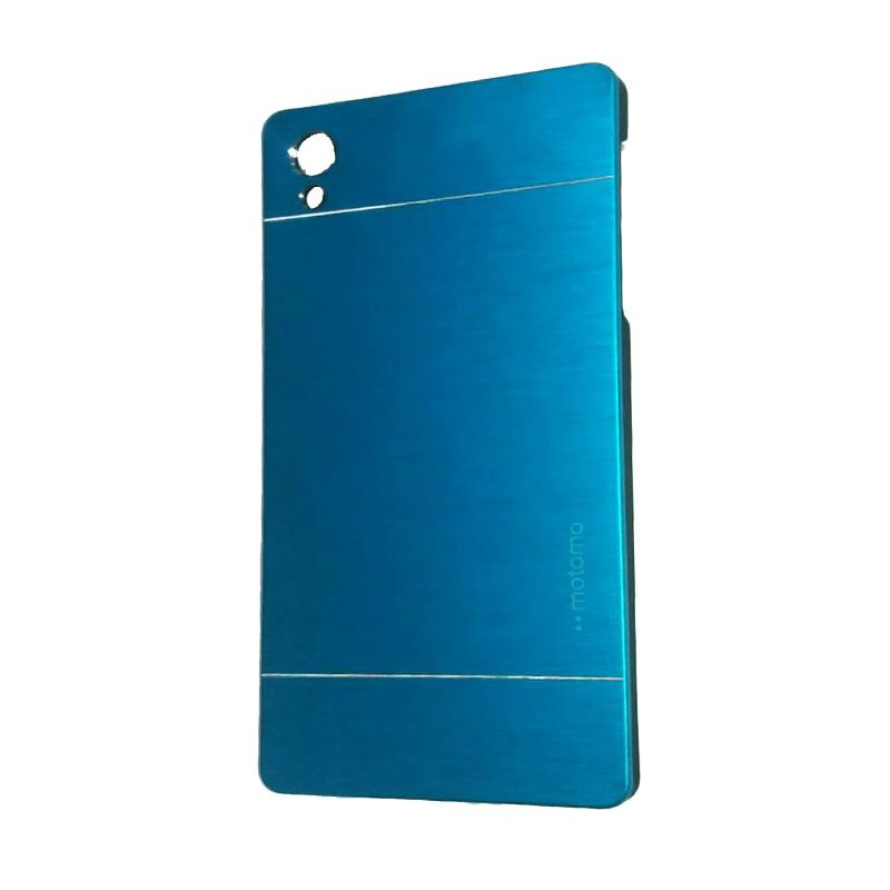 Motomo Metal Backcase Hardcase Casing for Sony Xperia Z5 or Z5 Dual - Sky Blue