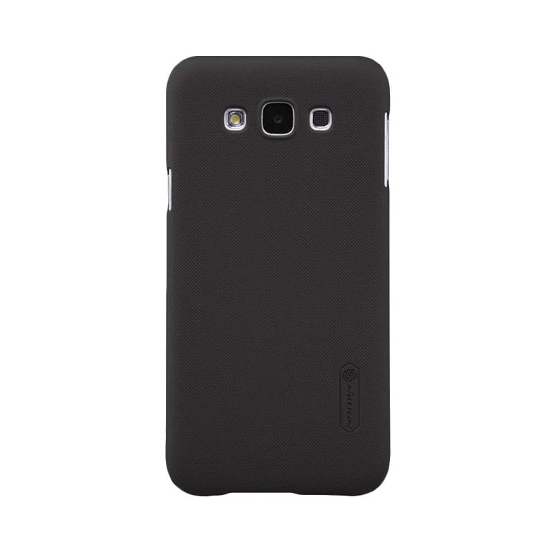 Nillkin Original Super Shield Hardcase Casing for Samsung Galaxy E7 - Black [1 mm]