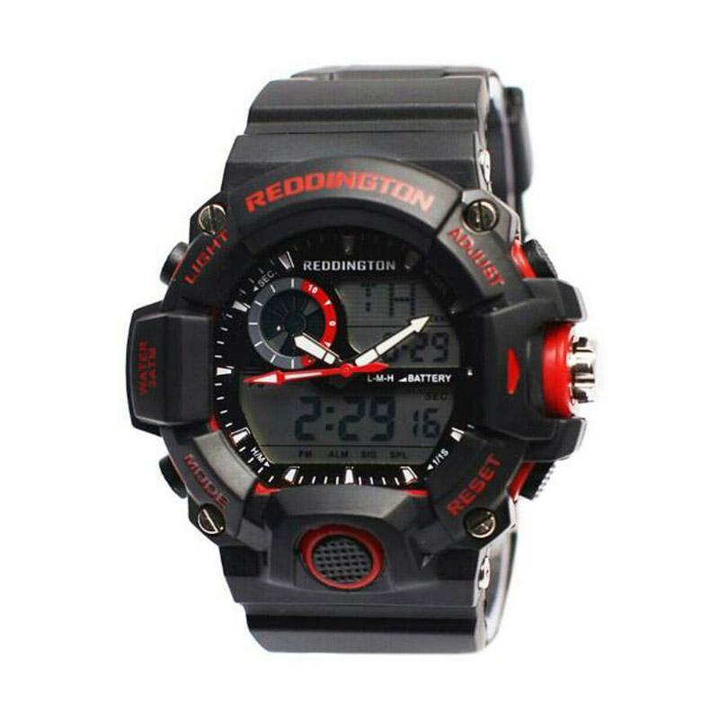 Reddington Sporty D47H110RD2028MHTMM Rubber Strap Dualtime Jam Tangan Pria