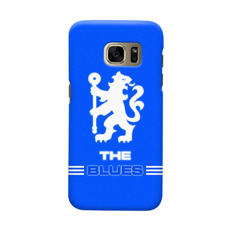 Indocustomcase Chelsea FC CFC03 Cover Casing for Samsung Galaxy S6 Edge