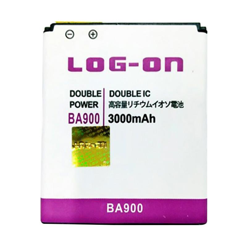 Jual Log On BA900 Double Power and IC Battery for Sony Xperia J/L/M/TX/E1 [3000 mAh/Garansi 6 Bulan] Online - Harga & Kualitas Terjamin   Blibli.com