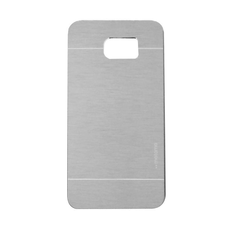 Motomo Metal Hardcase Backcase Casing for Samsung Galaxy Note 5 or N920 - Silver