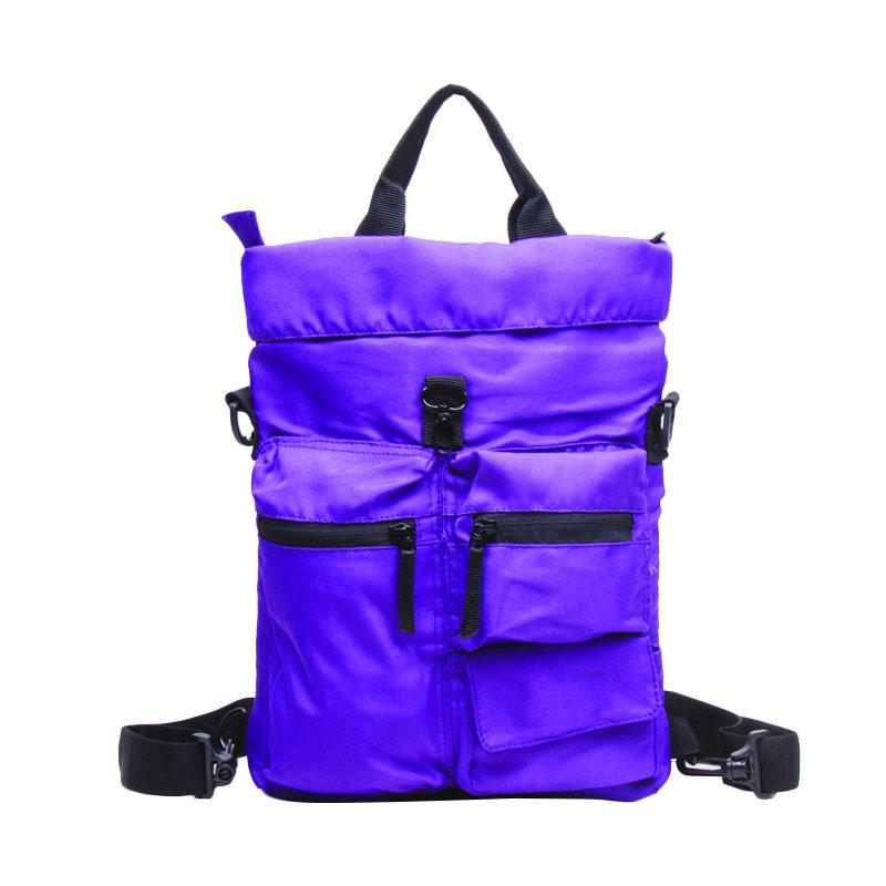 Outer Limit Multifuntion Backpack 3 Ways BTO.49 Tas Unisex - Purple