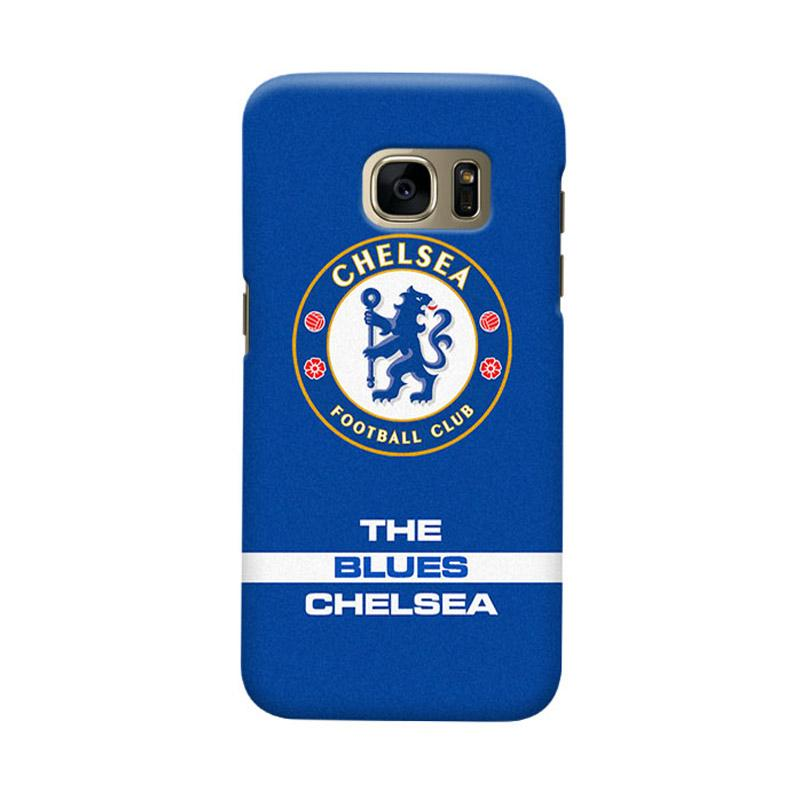 Indocustomcase Chelsea FC CFC04 Cover Casing for Samsung Galaxy S6 Edge
