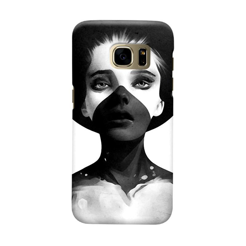 Indocustomcase Hold On Cover Casing for Samsung Galaxy S7 Edge