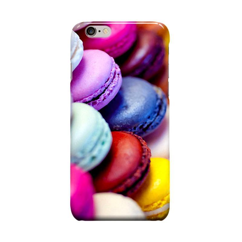 Indocustomcase Macaroon Casing for Apple iPhone 6 Plus or 6S Plus