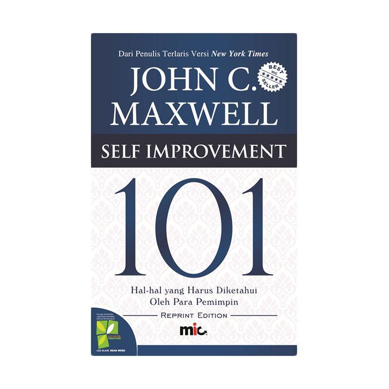MIC Publishing Self Improvement 101 by John C. Maxwell Buku Motivasi