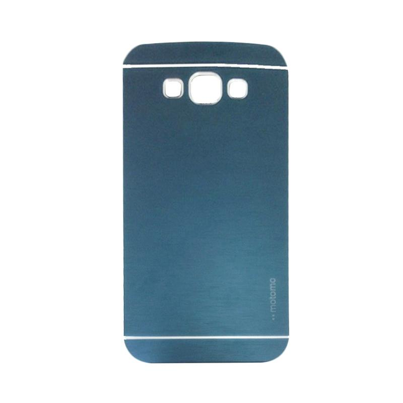 Motomo Metal Hardcase Backcase Casing for Samsung Galaxy J2 Prime G532M - Dark Blue