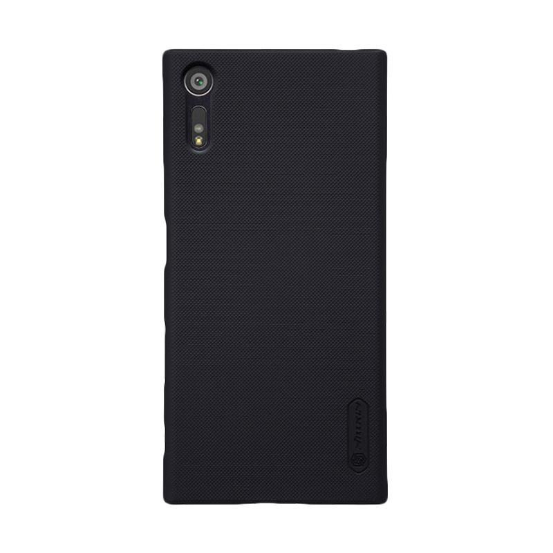Nillkin Original Super Shield Hardcase Casing for Sony Xperia XZ - Black [1 mm]