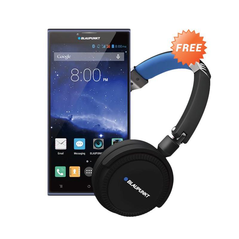 Blaupunkt Sonido X1 Plus Smartphone - Midnight Blue [16GB/ 2GB] + Free Headphone