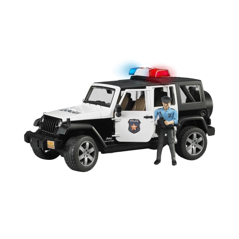 Bruder Toys Jeep Wrangler Unlimited Rubicon Police vehicle Diecast