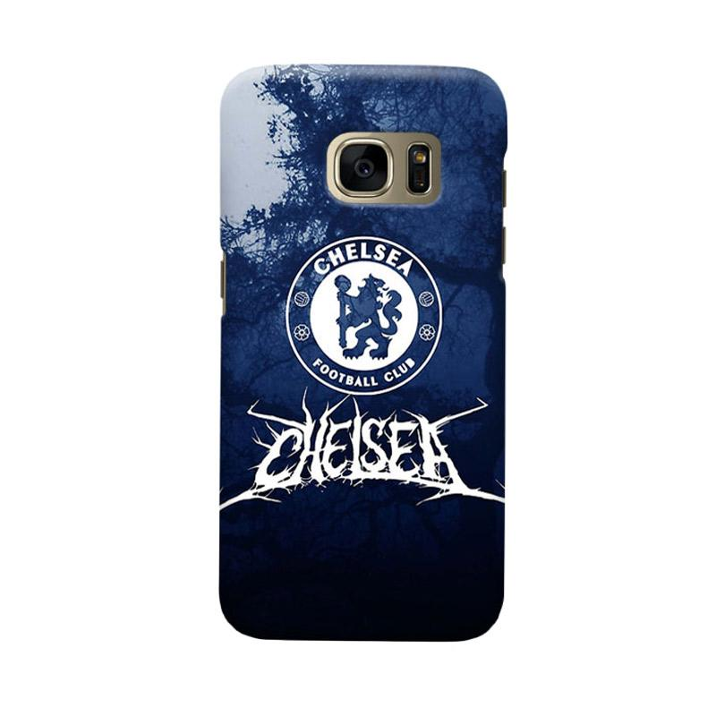 Indocustomcase Chelsea FC CFC05 Cover Casing for Samsung Galaxy S6 Edge