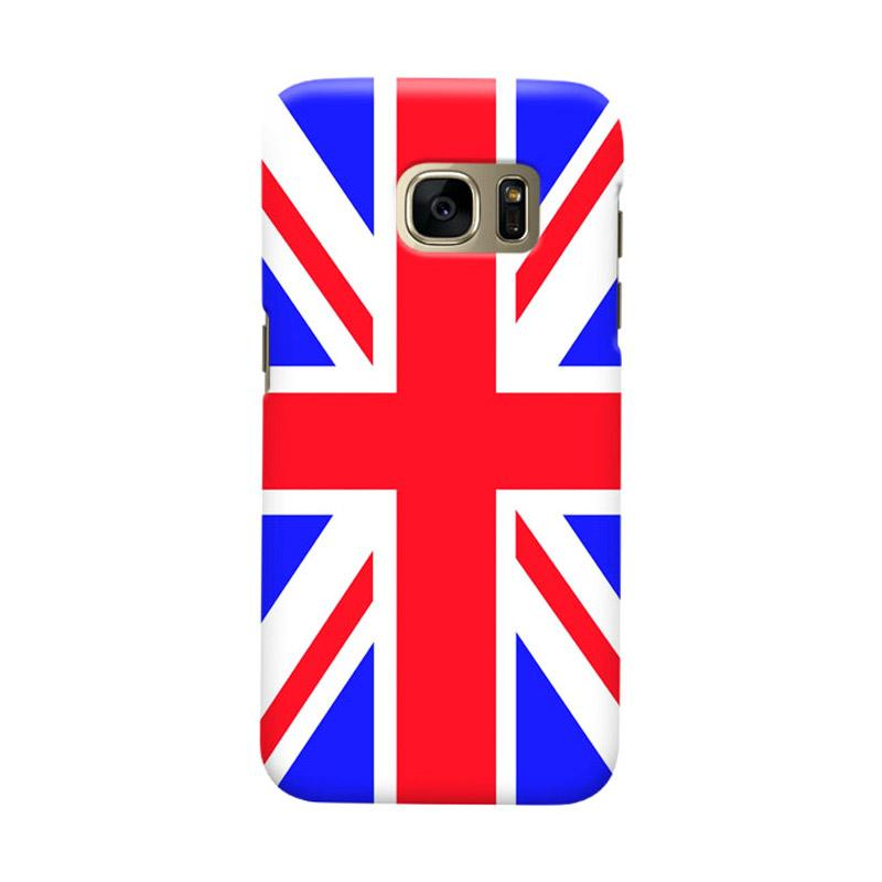 Indocustomcase Union Jack 2 Cover Casing for Samsung Galaxy S6